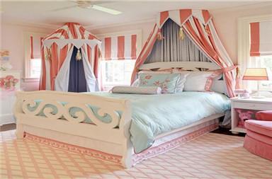宝贝女儿可爱的粉红色公主房-装修论坛-北京搜房网